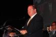 Chip Ganassi speaks at the 2013 INDYCAR Championship Celebration -- Photo by: Chris Jones