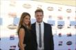 James Jakes and his girlfriend walk the red carpet at the 2013 INDYCAR Championship Celebration -- Photo by: Chris Jones