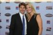 Will and Liz Power arrive at the 2013 INDYCAR Championship Celebration -- Photo by: Chris Jones