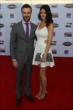 James Hinchcliffe and his girlfriend arrive at the 2013 INDYCAR Championship Celebration -- Photo by: Chris Jones
