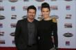 Alex and Bronte Tagliani arrive at the 2013 INDYCAR Championship Celebration -- Photo by: Chris Jones