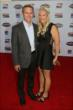 Ed and Heather Carpenter walk the red carpet at the 2013 INDYCAR Championship Celebration -- Photo by: Chris Jones