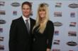 Ryan Hunter-Reay and his wife Beccy arrive at the 2013 INDYCAR Championship Celebration -- Photo by: Chris Jones