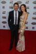 Scott and Emma Dixon walk the red carpet at the 2013 INDYCAR Championship Celebration -- Photo by: Chris Jones