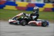 Sebastian Saavedra during the early stages of the Dan Wheldon Pro-Am Karting Classic -- Photo by: Chris Owens