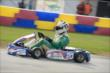 Ed Carpenter drives his kart during the Dan Wheldon Pro-Am Karting Classic -- Photo by: Chris Owens