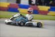 Simon Pagenaud races towards the esses during the Dan Wheldon Pro-Am Karting Classic -- Photo by: Chris Owens