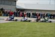 Track activity during the Dan Wheldon Pro-Am Karting Classic -- Photo by: Chris Owens