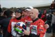 Marino Franchitti and the Big Machine Records karting team remember Dario Franchitti at the Dan Wheldon Pro-Am Karting Classic -- Photo by: Chris Owens