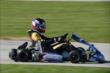 Will Power on course during the 2013 RoboPong 200 at New Castle Motorsports Park -- Photo by: Chris Owens