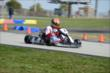 Sage Karam during the opening stages of the 2013 RoboPong 200 at New Castle Motorsports Park -- Photo by: Chris Owens