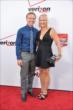 Ed and Heather Carpenter on the red carpet for the 2014 INDYCAR Championship Celebration