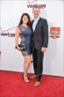 Charlie Kimball and his fiance Kathleen on the red carpet prior to the 2014 INDYCAR Championship Celebration