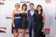 Simon Pagenaud and his guests on the red carpet prior to the 2014 INDYCAR Championship Celebration