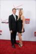 Ryan Hunter-Reay and his wife Beccy on the red carpet prior to the 2014 INDYCAR Championship Celebration