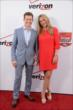 Ryan Briscoe and his wife Nicole on the red carpet prior to the 2014 INDYCAR Championship Celebration