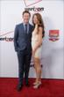 Scott Dixon and his wife Emma arrive on the red carpet prior to the 2014 INDYCAR Championship Celebration
