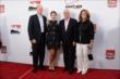Roger Penske and his family arrive on the red carpet prior to the 2014 INDYCAR Championship Celebration