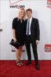 Will Power and his wife Liz arrive on the red carpet prior to the 2014 INDYCAR Championship Celebration
