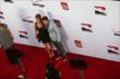 Marco Andretti and his girlfriend Marta walk the red carpet preceding the 2014 INDYCAR Championship Celebration -- Photo by: Chris Jones