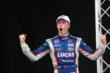 Jack Hawksworth celebrates his victory at Baltimore -- Photo by: Chris Jones