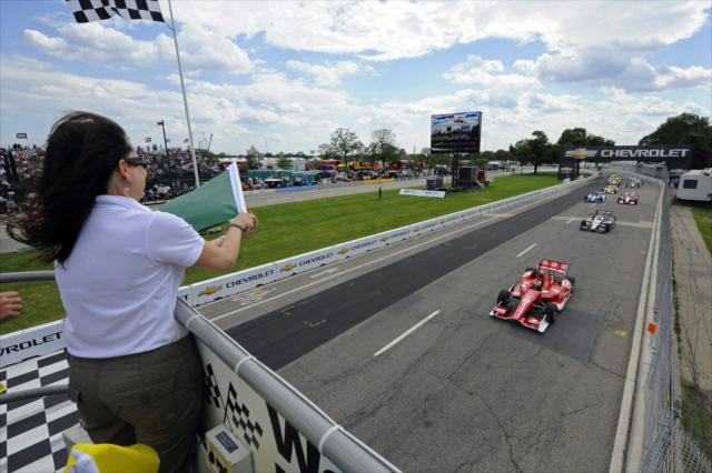 Prestazione dominante a Detroit una settimana dopo la delusione di Indy. indycar.com, LAT photo USA
