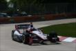 Helio Castroneves on course during practice for the Chevrolet Dual In Detroit -- Photo by: Chris Jones