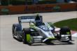 Josef Newgarden on course during practice for the Chevrolet Dual In Detroit -- Photo by: Chris Jones