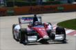 Takuma Sato on course during practice for the Chevrolet Dual In Detroit -- Photo by: Chris Jones