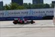 Justin Wilson on course during practice for the Chevrolet Dual In Detroit -- Photo by: Chris Jones