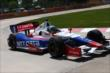 Ryan Briscoe on course during practice for the Chevrolet Dual In Detroit -- Photo by: Chris Jones