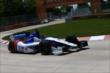 Mikhail Aleshin on course during practice for the Chevrolet Dual In Detroit -- Photo by: Chris Jones