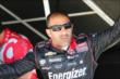 Tony Kanaan in his pit stand at Belle Isle -- Photo by: Chris Jones