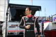 Helio Castroneves -- Photo by: Chris Jones