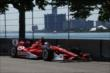 Scott Dixon on course during practice for the Chevrolet Dual in Detroit -- Photo by: Chris Jones