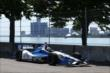 Carlos Huertas on course during practice for the Chevrolet Dual in Detroit -- Photo by: Chris Jones