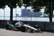 Mike Conway on course during practice for the Chevrolet Dual in Detroit -- Photo by: Chris Jones