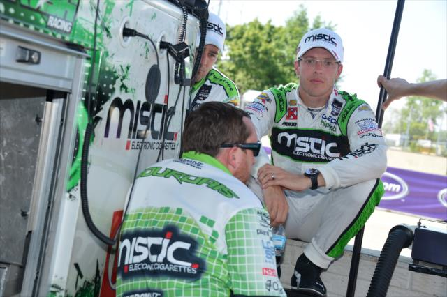 IndyCar: Bourdais fined, put on probation after Texas Motor Speedway