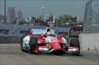 Justin Wilson exits Turn 2 during practice for the Chevrolet Dual In Detroit -- Photo by: Chris Owens