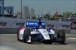 Mikhail Aleshin exits Turn 2 during practice for the Chevrolet Dual In Detroit -- Photo by: Chris Owens