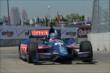 Graham Rahal exits Turn 2 during practice for the Chevrolet Dual In Detroit -- Photo by: Chris Owens