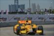 Ryan Hunter-Reay exits Turn 2 during practice for the Chevrolet Dual In Detroit -- Photo by: Chris Owens