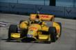Ryan Hunter-Reay on course during practice for the Chevrolet Dual in Detroit -- Photo by: Chris Owens