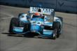 James Hinchcliffe on course during practice for the Chevrolet Dual in Detroit -- Photo by: Chris Owens