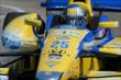 Marco Andretti on course during practice for the Chevrolet Dual in Detroit -- Photo by: Chris Owens