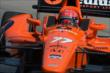 Simon Pagenaud on course during practice for the Chevrolet Dual in Detroit -- Photo by: Chris Owens