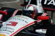 Helio Castroneves on course during practice for the Chevrolet Dual in Detroit -- Photo by: Chris Owens
