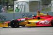 Sebastian Saavedra on course during practice for the Chevrolet Dual In Detroit -- Photo by: Joe Skibinski