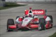 Juan Pablo Montoya on course during practice for the Chevrolet Dual In Detroit -- Photo by: Joe Skibinski