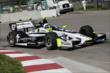 Josef Newgarden on course during practice for the Chevrolet Dual in Detroit -- Photo by: Joe Skibinski